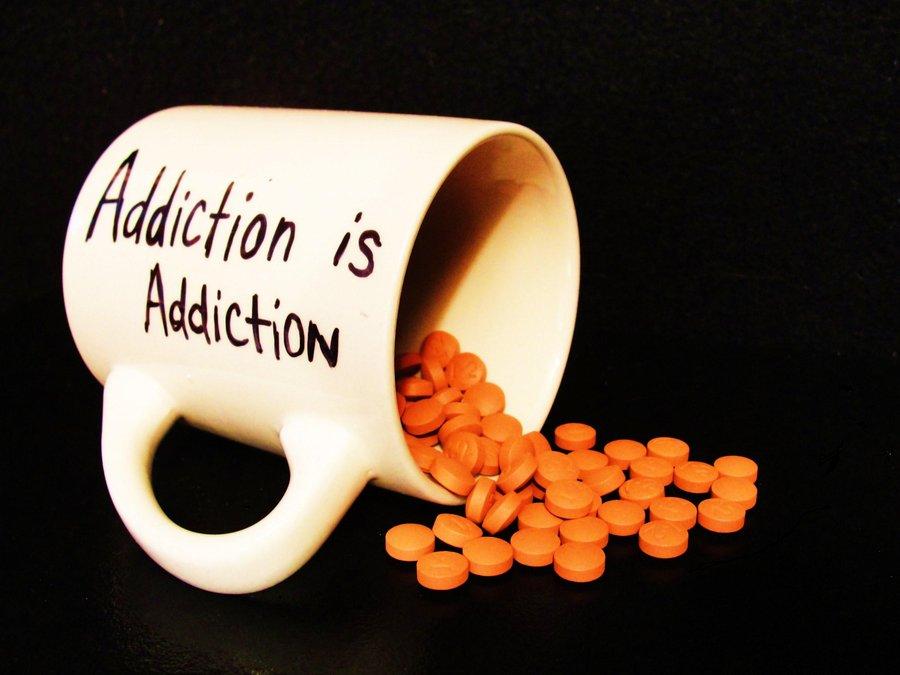 drug addiction vs gambling addiction